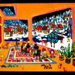 Oil colour | winter room