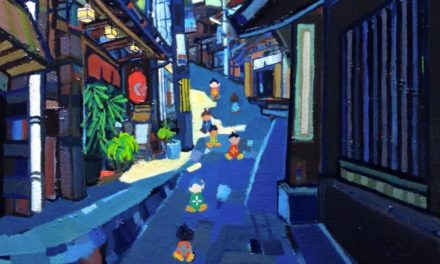 Oil colour | City of hot spring