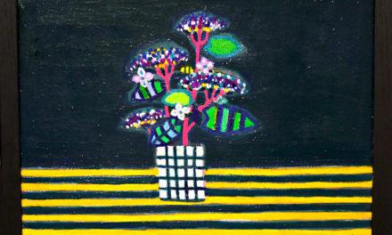 油彩画 | 紫陽花