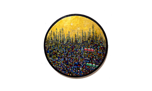油彩画 | ゴールドタウン