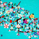 油彩画 | サクラ