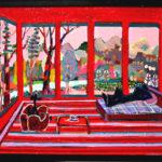 油彩画 | リビングルーム