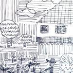 素描画 | forest walker