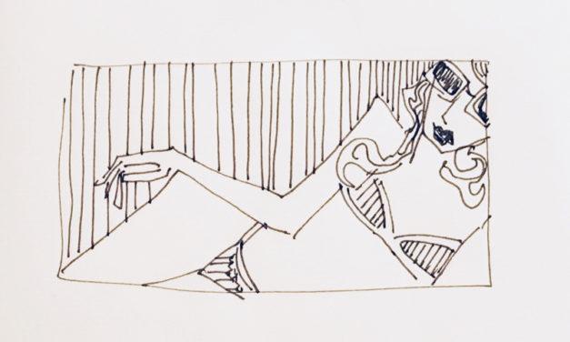 素描画 | nude