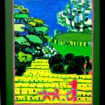 油彩画 | Forest walker