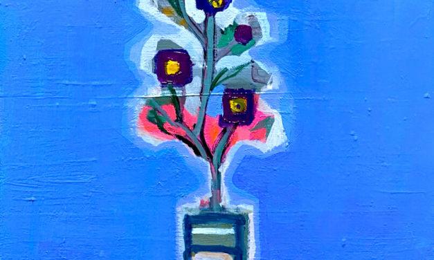油彩画 | Winter flowers