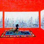 Oil colour | ORANGE ROOM