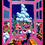 Oil colour | sky room
