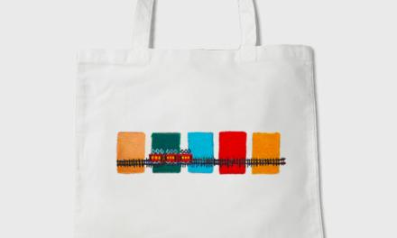 Tote-bag | red train