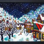 Oil colour | SNOWY CITY