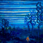 Oil colour | Night walker