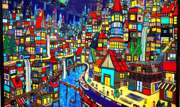油彩画 | ウォータータウン