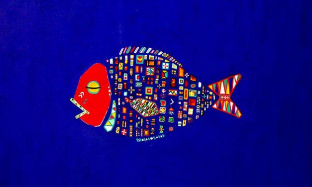 油彩画 | 2006 | サカナ