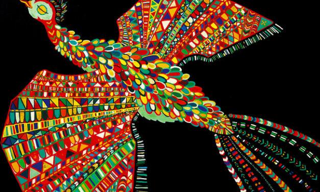 油彩画 | 2006 | 鳥