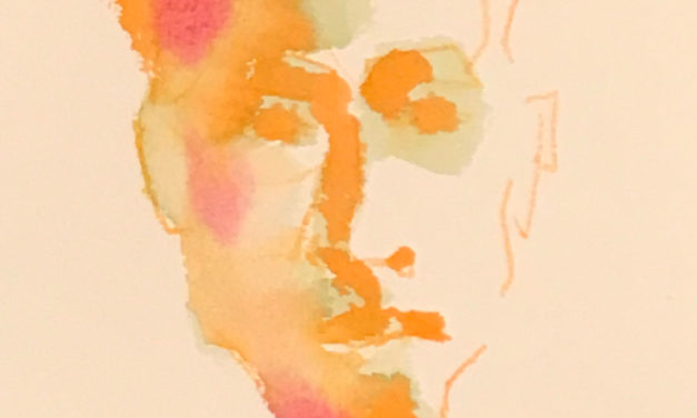 水彩画 | portrait