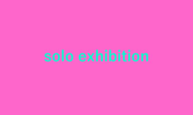 個展 | winter world | 11月20-28日 | galerie la ruche | 2021